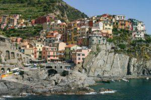 Travel - Cinque Terre Manarola on the Mediterranean