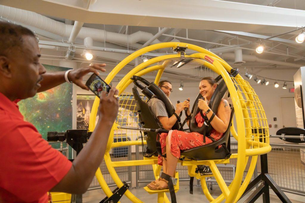 G Shock simulator at Spaceport America