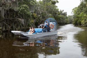 Airboat ride on the Louisiana Bayou
