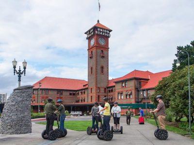 Travel - Portland, Oregon Union Train Station and Segways