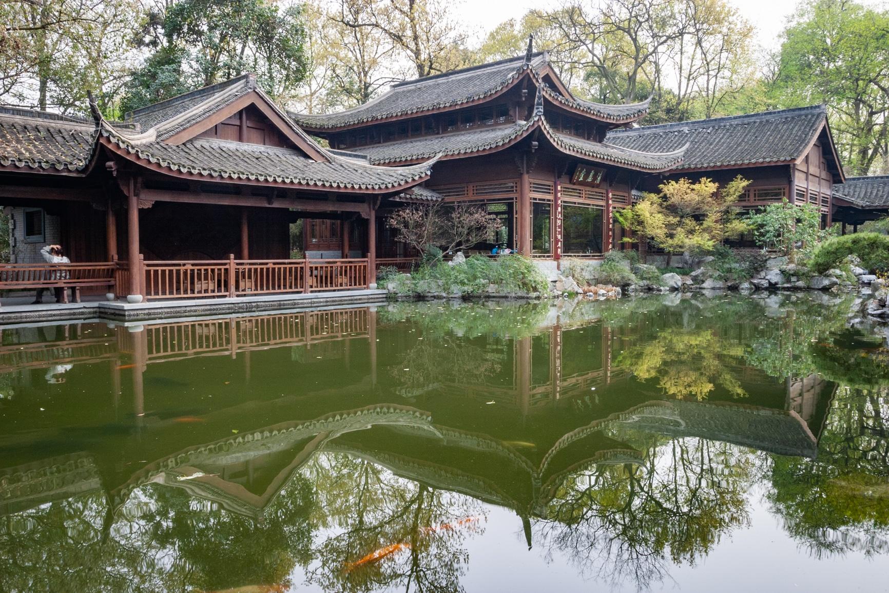 Travel - pagoda reflections china