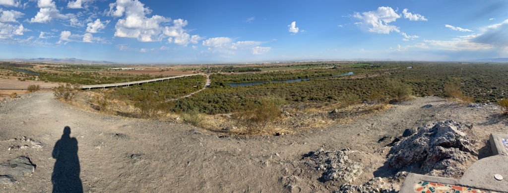 Arizona Valley of the Sun panorama from Marker Hill