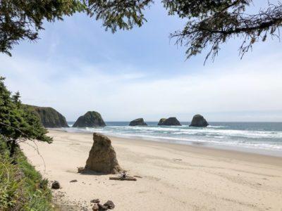 Crescent Beach Sea Stacks - Oregon