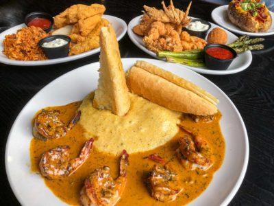 Cajun Creole Restaurant des Familles Crown Point Louisiana
