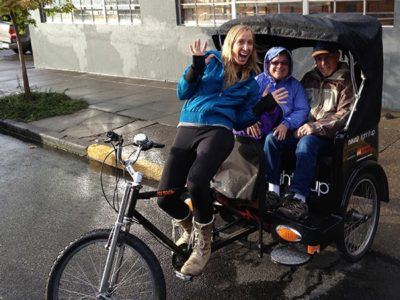 Portland Pedicab tour in Oregon