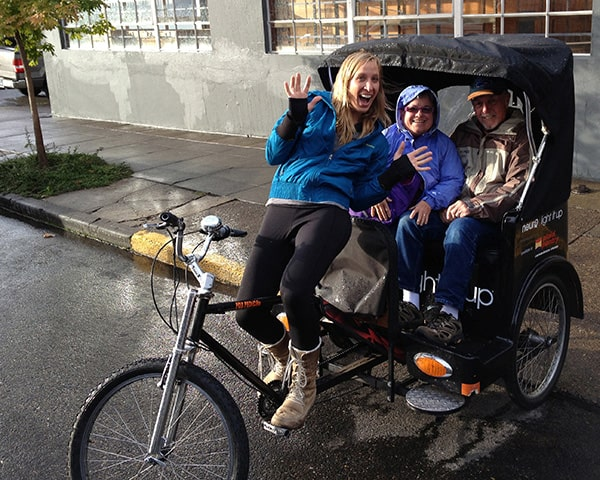 Portland Pedicab tour in Oregon