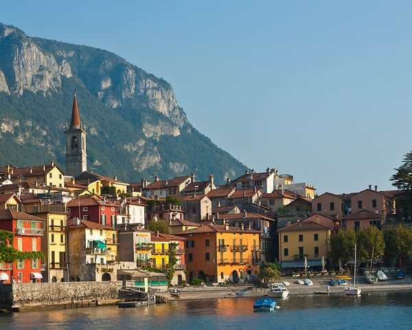 Varenna on Lake Como, Italy